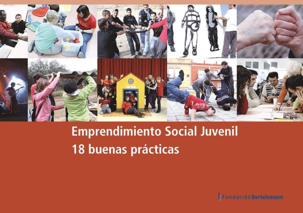 Emprendimiento Social Juvenil. 18 buenas prácticas