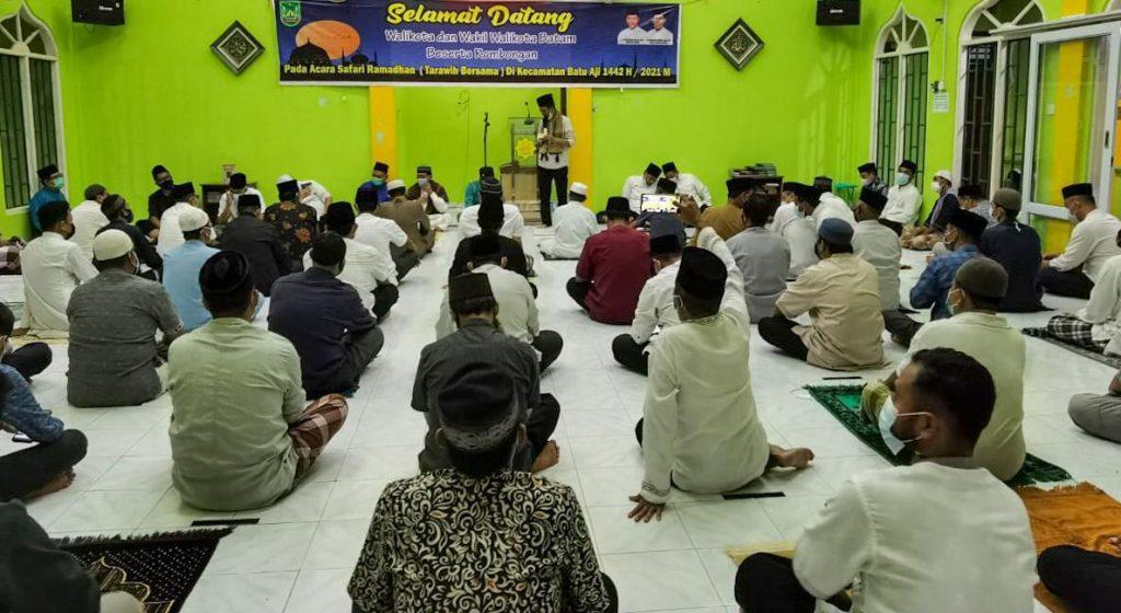 Walikota Batam Ajak Masyarakat Semarakkan Ramadhan Dengan Terapkan Prokes