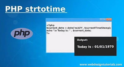 PHP strtotime() Function