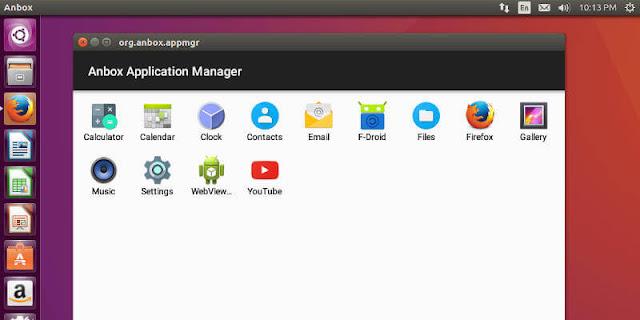تشغيل تطبيقات اندرويد على لينكس