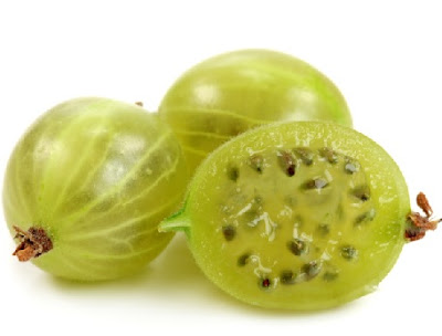 Indian Gooseberry Amla for treating hair loss naturally.