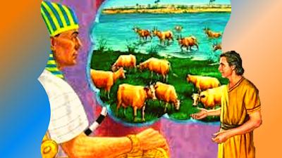 Faraó fala que sonhou com vacas gordas e magras