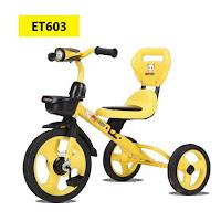 Sepeda Roda Tiga Anak Exotic ET603 baby tricycle
