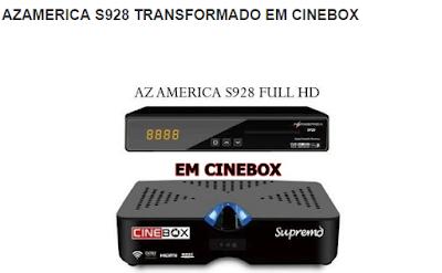 AZAMERICA S928 TRANSFORMADO