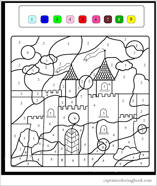 Magic Coloring coloring page