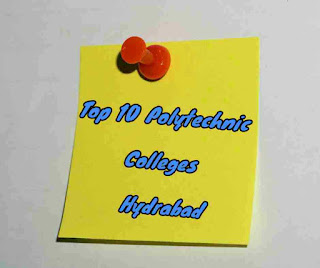 top polytechnic colleges hydrabad