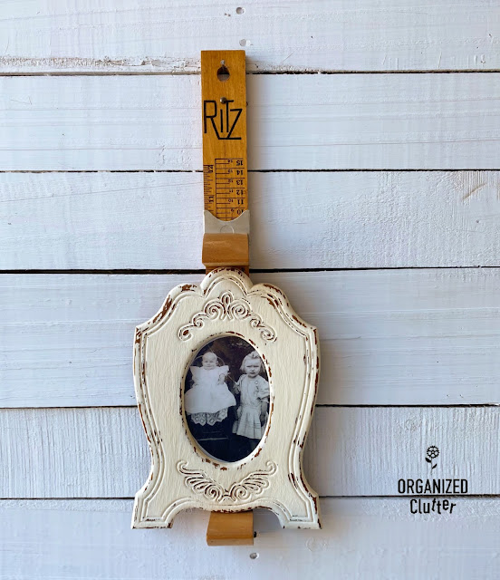 Photo of Ritz foot size ruler & photo frame