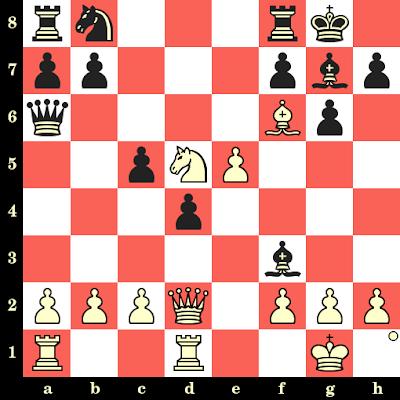 Les Blancs jouent et matent en 4 coups - Jacek Bednarski vs Nouisseri, Siegen, 1970