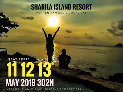Hot Weekend Special 11 MAY 2018 At Perhentian!