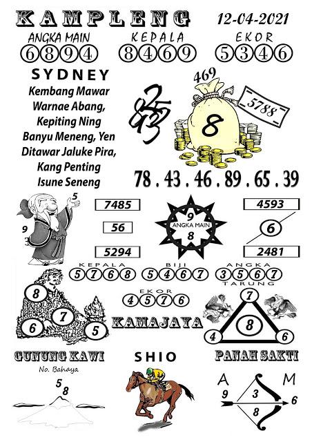 Kampleng Sydney Senin 12-Apr-2021
