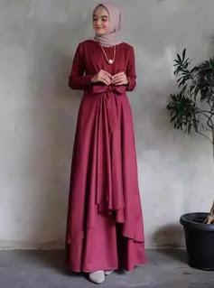model maxi dress wanita terbaru dress wanita muslim