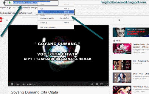 format video youtube jadi mp3