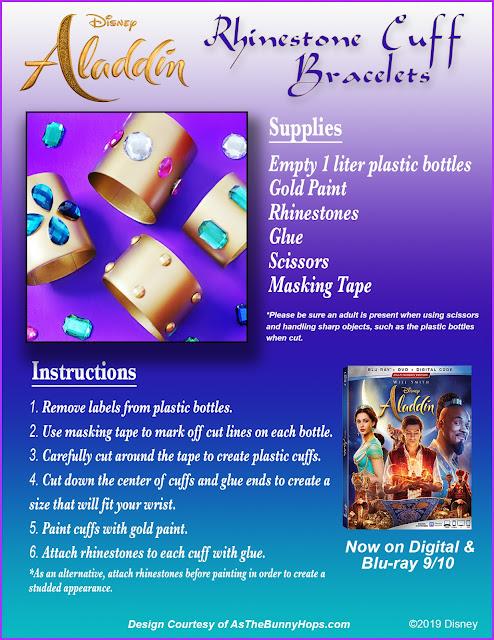 Disney Aladdin crafts
