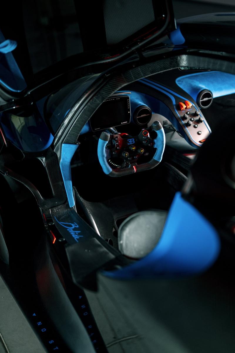 Bugatti Bolide Pushes the Envelop