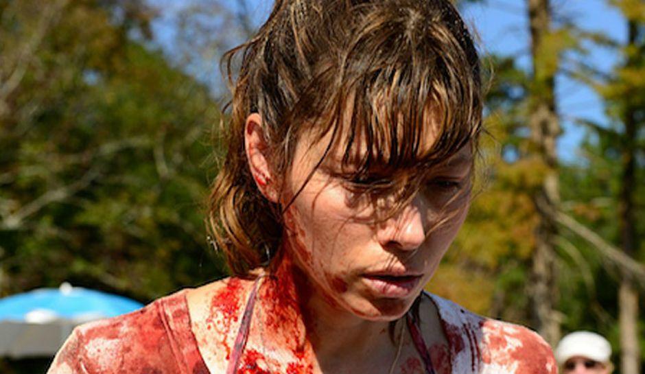 """Imagen de la protagonista de """"The sinner"""", justo después de cometer el asesinato"""
