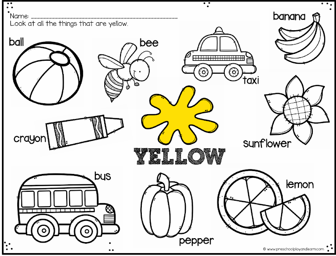 Color Maths - Color Math Activities for Preschoolers