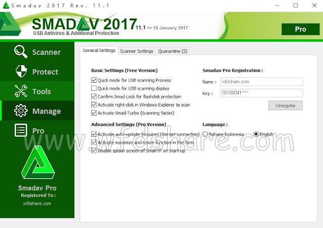 Download Smadav 2017 pro terbaru Keygen Crack Serial