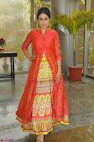 Simrat in Orange Anarkali Dress 14.JPG