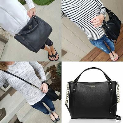 Kate Spade Pine Street Kori handbag - major sale! www.wearitforless.com