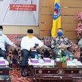 Kapolres Mataram Hadiri Vicon Rakor Khusus Penegakan Hukum Pilkada Serentak