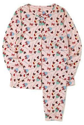 Mamaway Minnie Lollipop Maternity & Nursing Pajama