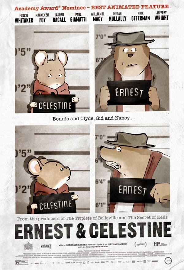 Ernest and Celestine เจ้าตัวจิ๋วเปลี่ยนโลกสร้างมิตรภาพ [HD]