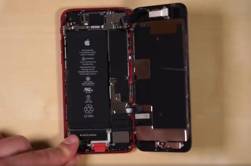 新 iPhone SE 和 iPhone 8 那些零件能共用?那些不行