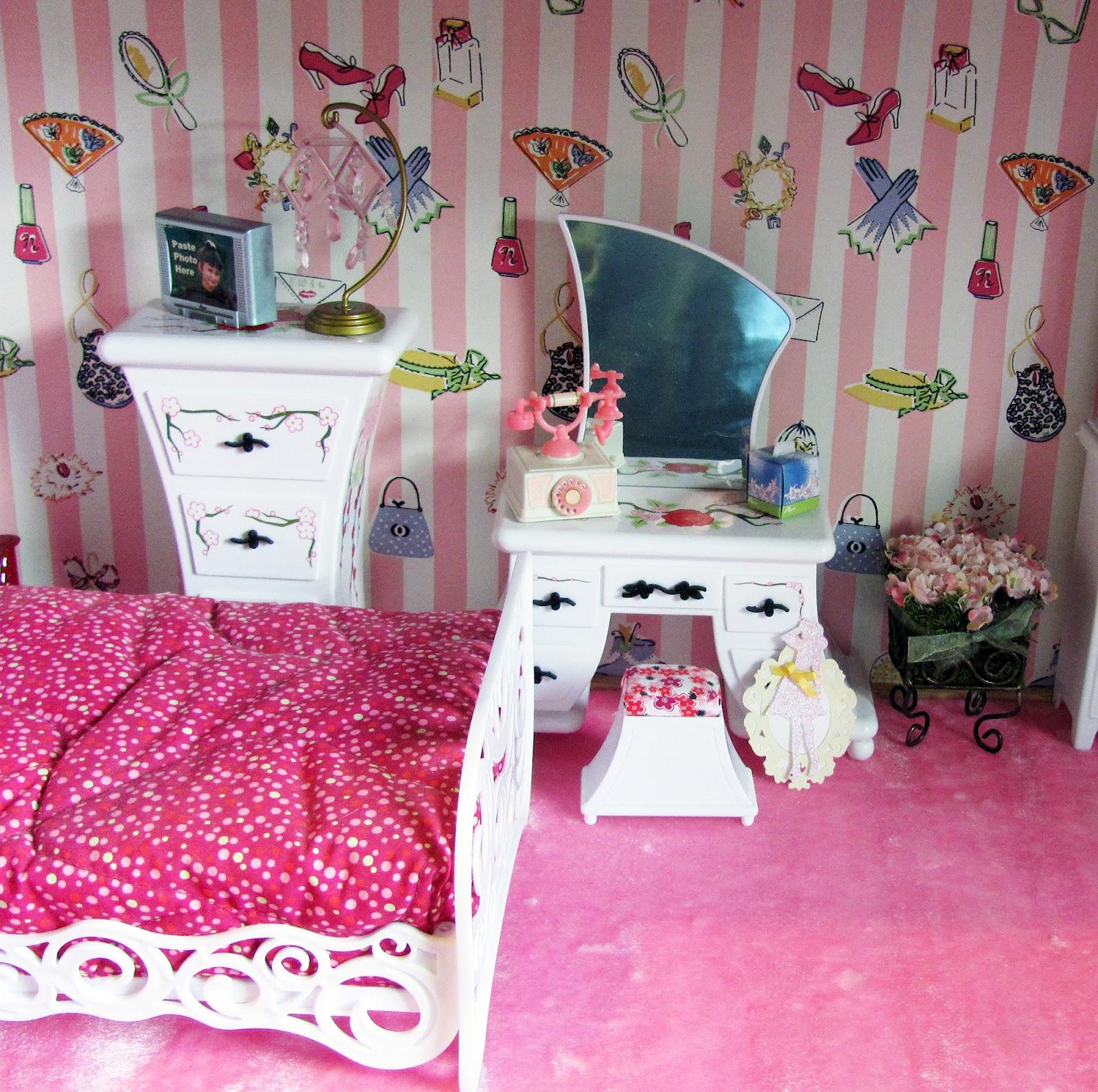 Chrissy S Creative Corner Barbieville Doll House Progress