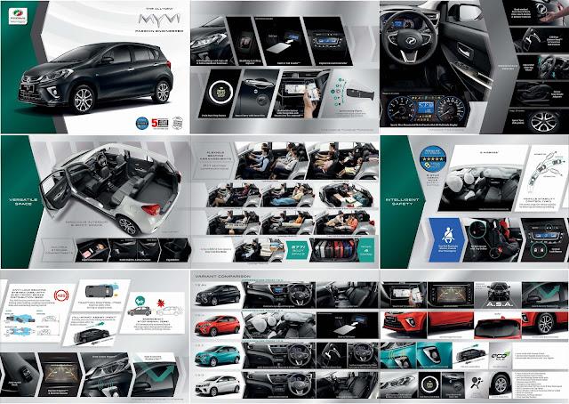 Brochure Perodua Myvi 2018