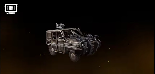 PUBG Mobile Payload 2.0 Update all New Armed Vehicles