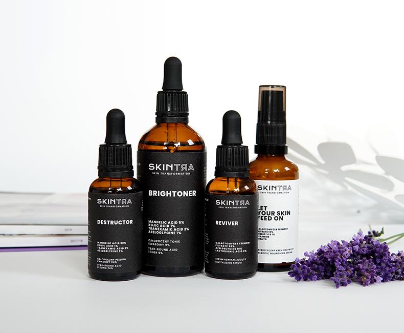 SkinTra - kosmetyki z kwasami w codziennej pielęgnacji. Czy można używać je latem?