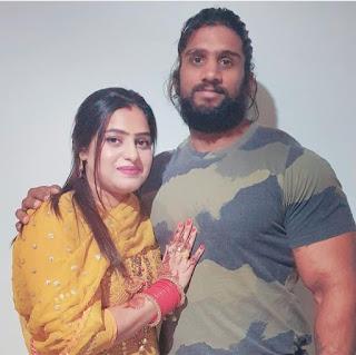 Nitin Chandila Wife