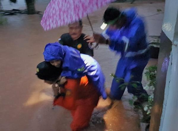 Cuaca Hujan Ekstrem,  Tanjung Pinang Kembali Banjir