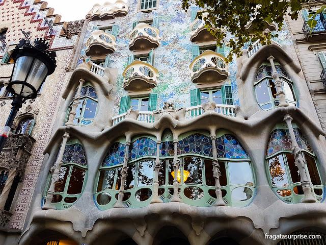 Casa Batlló, Passeig de Gràcia, Barcelona