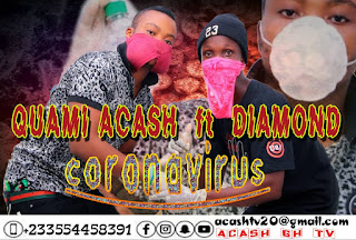 Quami Acash - Coronavirus Ft. Diamond