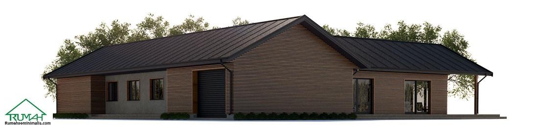 Denah Model Desain Gambar Rumah Minimalis Idaman Sederhana Tipe 311