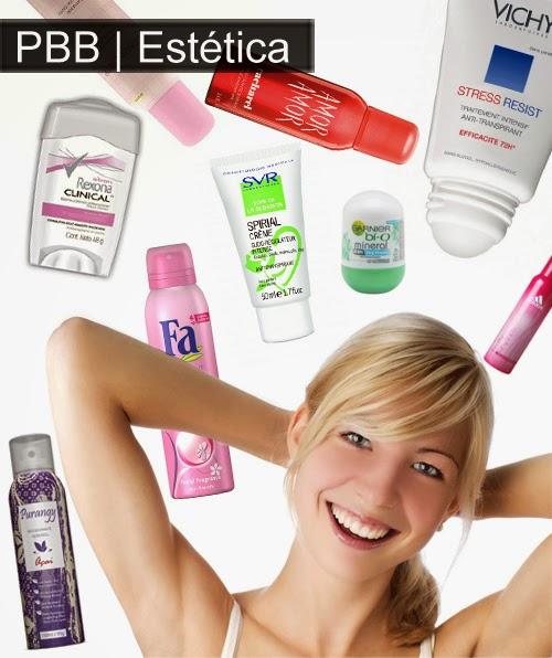 desodorante e antitranspirante