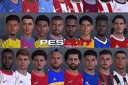 New Look Facepack V6 Season 2021 (500+ Faces) - PES 2017