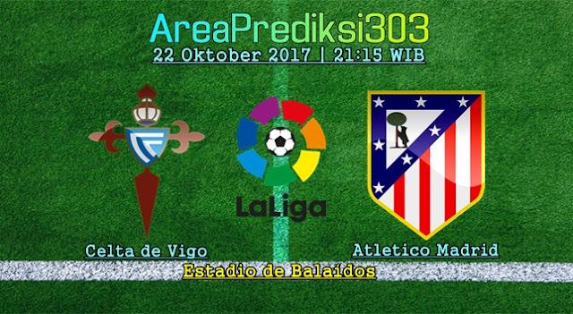 Prediksi Celta Vigo vs Atletico Madrid 22 Oktober 2017
