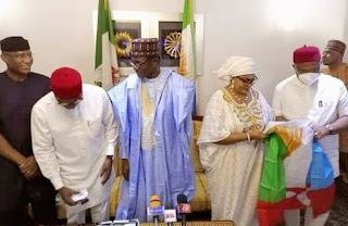 BREAKING: Stella Oduah Decamps PDP, enters APC