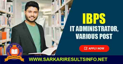 IBPS Various Post Apply Online 2020