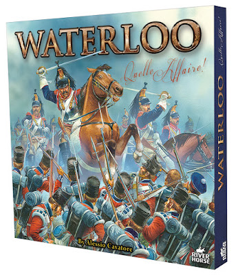 River Horse Games: Waterloo Boardgame by Cavatore