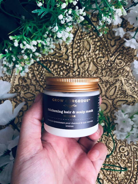 Thickening hair and scalp mask de Grow Gorgeous