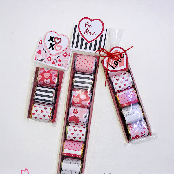 Nugget Sleeves with Heart Tags for Valentines