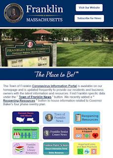 Town of Franklin e-Newsletter for June 2020