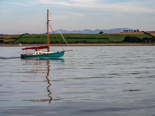 Photo of yacht Cicely on the Solway Firth