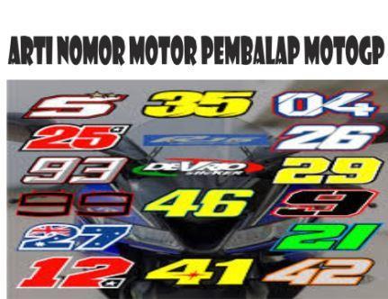 Sudah Tahukah Anda??Arti Nomor Motor Pembalap Motogp