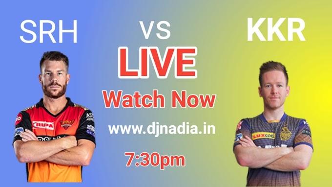 Watch live vivo IPL 2021 SRH vs KKR Free, today ipl 2021 match rcb vs mi live match watch now