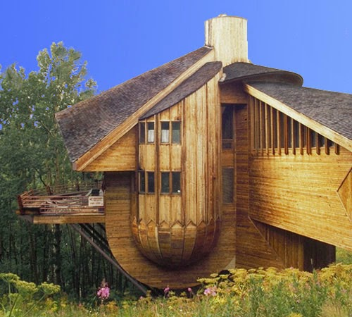 Coolest Cabins: Not Just 'any' Modern Wood Cabin