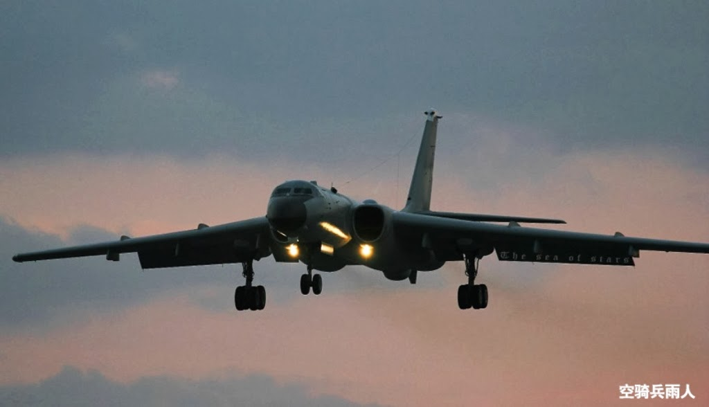 H-6K+6x+KD-63+cj10+abcdefghkmu+Chinese+People's+Liberation+Army+Air+Force++Tu-16+Badger+antiship+missile+pgm+ls-6+lt-2+3+weapons+bey+open++(6).jpg